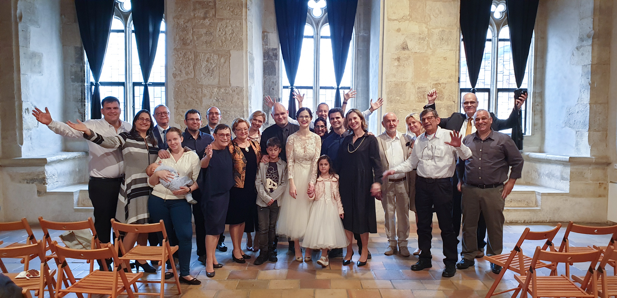 Family and friends photo - Prague wedding at the Stone Bell House